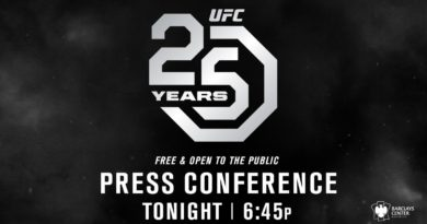UFC 25th Anniversary Press Conference Live