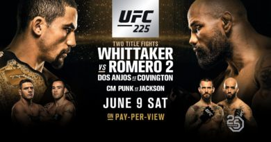 UFC 225: CM Punk – Luck is for Losers