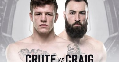 Paul Craig Vs Jim Crute set for Dec 2nd