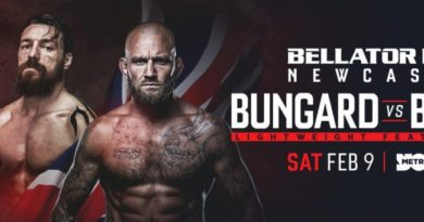 Bellator Newcastle: Chris Bungard Interview